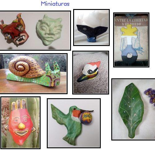 miniaturas t. máscaras